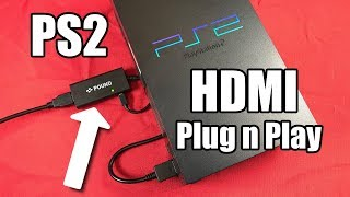 *NEW* PS2 HDMI Cable 100% Plug & Play - REVIEW w/ Gameplay