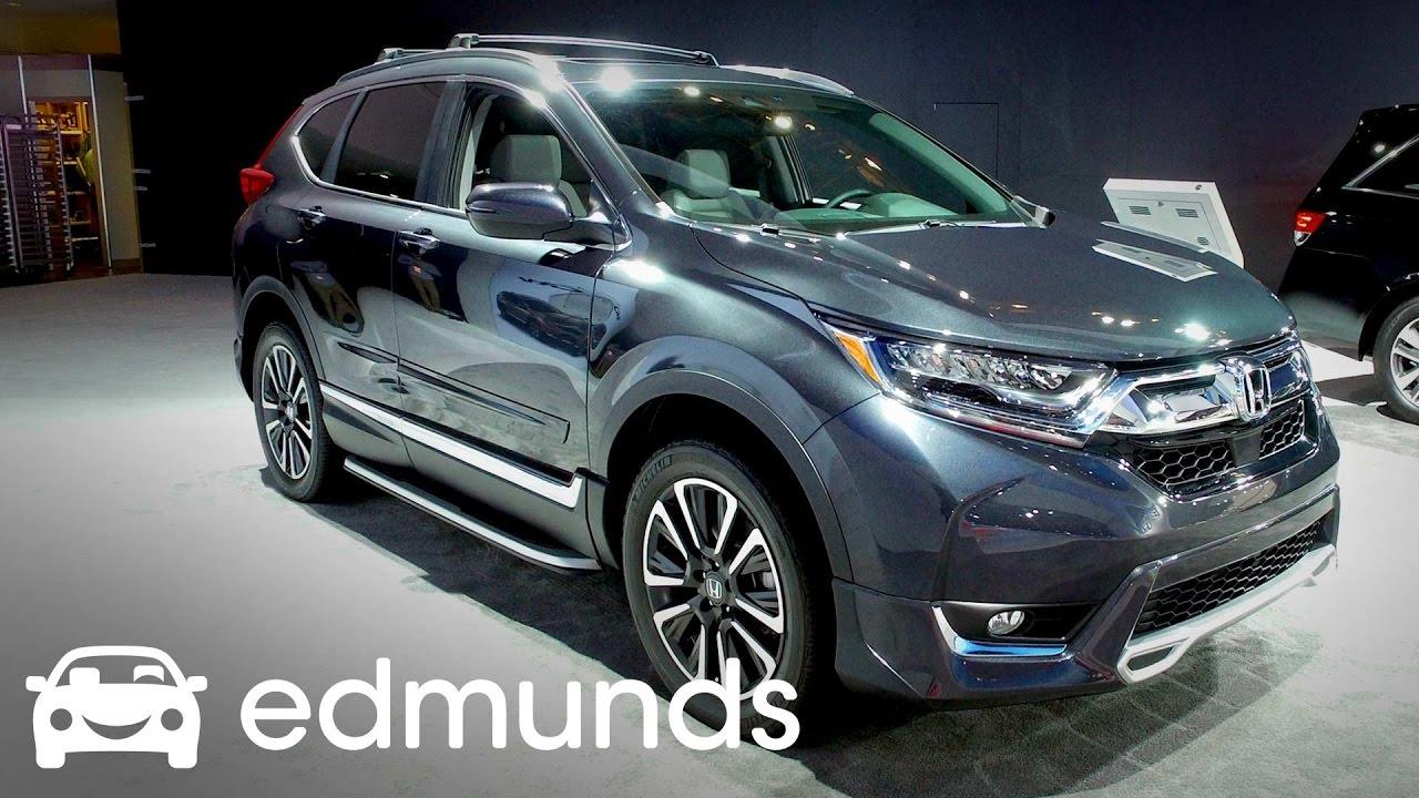2017 Honda Cr V Review Features Rundown Edmunds