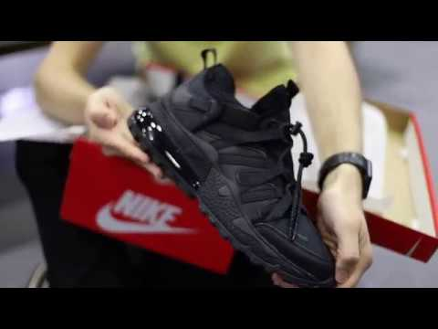 Unboxing Sneakers Nike Air Max 270 Bowfin Black AJ7200 005 | Freesneak Shop
