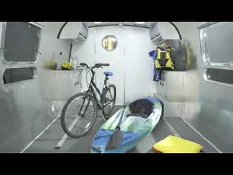 Airstream Panamerica Toy Hauler Travel Trailer Rv Youtube