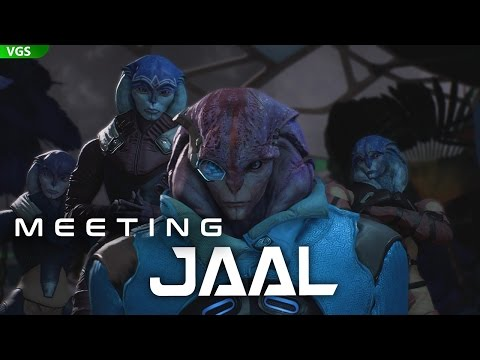 Mass Effect Andromeda: Meeting Jaal and the Angara