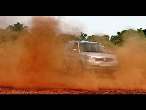 Circle Burnout did with Tata Safari Dicor