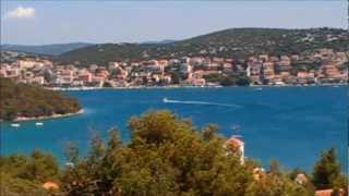 L'ile de Murter Croatie , Tisno Murter , jezera; Betina