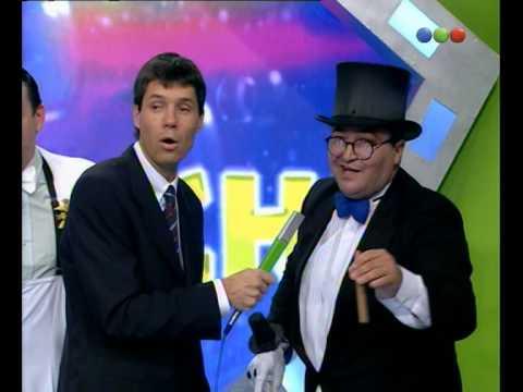 "Show del chiste, Larry de Clay ""boca - river"" - Videomatch"