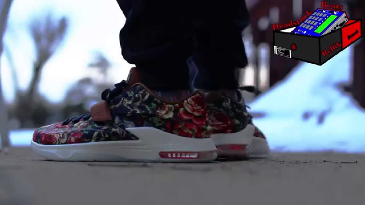 209c3b260fe2 new zealand nike kd 7 peanut butter and jelly shoes f32a1 9c28e  official nike  kd 7 floral on feet dea95 cd380