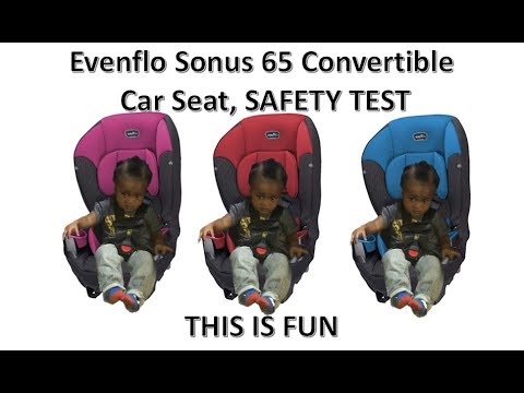 evenflo-baby-car-seat;-how-to-buckle-your-baby-up!!!!-safety-test-performed