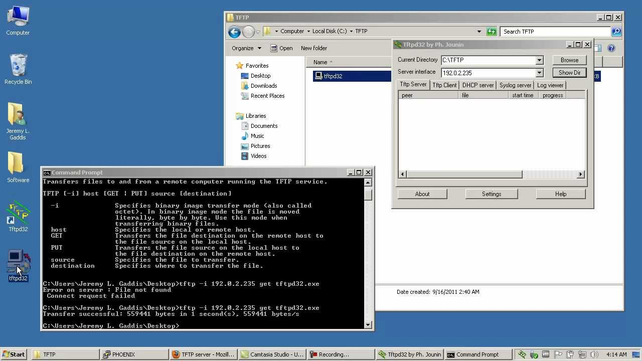 Free CCNA Labs: Installing the TFTPD32 TFTP server on Windows - YouTube