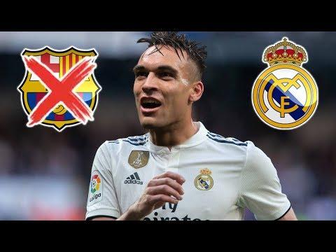 Lautaro Martinez al Real Madrid ( Duro Golpe al Barcelona )