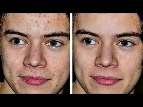 Harry Styles Photoshop Makeover