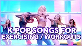 K-Pop Songs for Exercising, Workouts & the Gym!