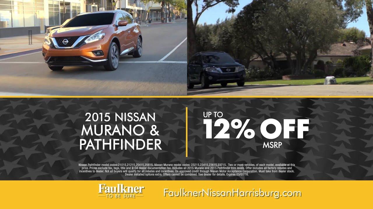 Faulkner Nissan Harrisburg >> Faulkner Nissan Of Harrisburg Presidents Day Event