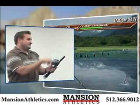 XAVIX Bass Fishing - Interactive Tech Xavix - Mansion Athletics