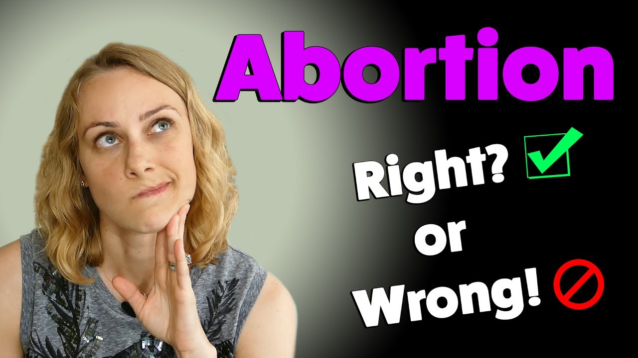 Abortion right and wrong by rachel