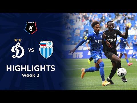 Dinamo Moscow R. Volgograd Goals And Highlights