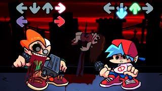 QUÉ le PASA a PICO ?! GF estás BIEN ?! - Horror Night Funkin VS Pico [FULL WEEK] FNF Mods