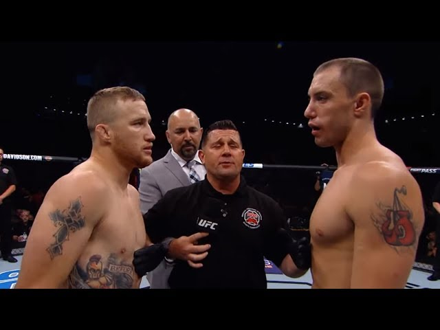 Justin Gaethje Breaks Down First Round KO of James Vick at UFC Lincoln