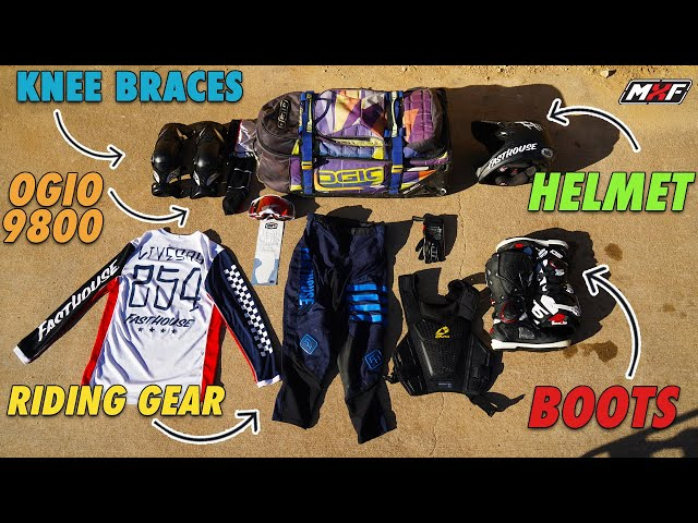10 Dirt Bike Gear Bag Essentials | Free Motocross Gift at the End!