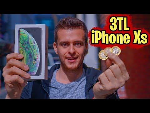 3 TL'ye IPhone Xs Aldım! (Şaka Değil) #SıkıyosaYap