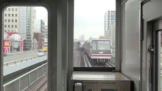 地下鉄御堂筋線 前面車窓 新大阪ー西中島南方
