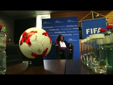 FIFA's top woman wants end to men's World Cup domination