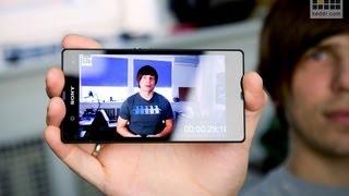 Sony Xperia Z: обзор смартфона с 13МП камерой, FullHD дисплеем и micro SD (характеристики)