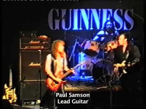 The Richard Black Project featuring Paul Samson, Live in London 1996
