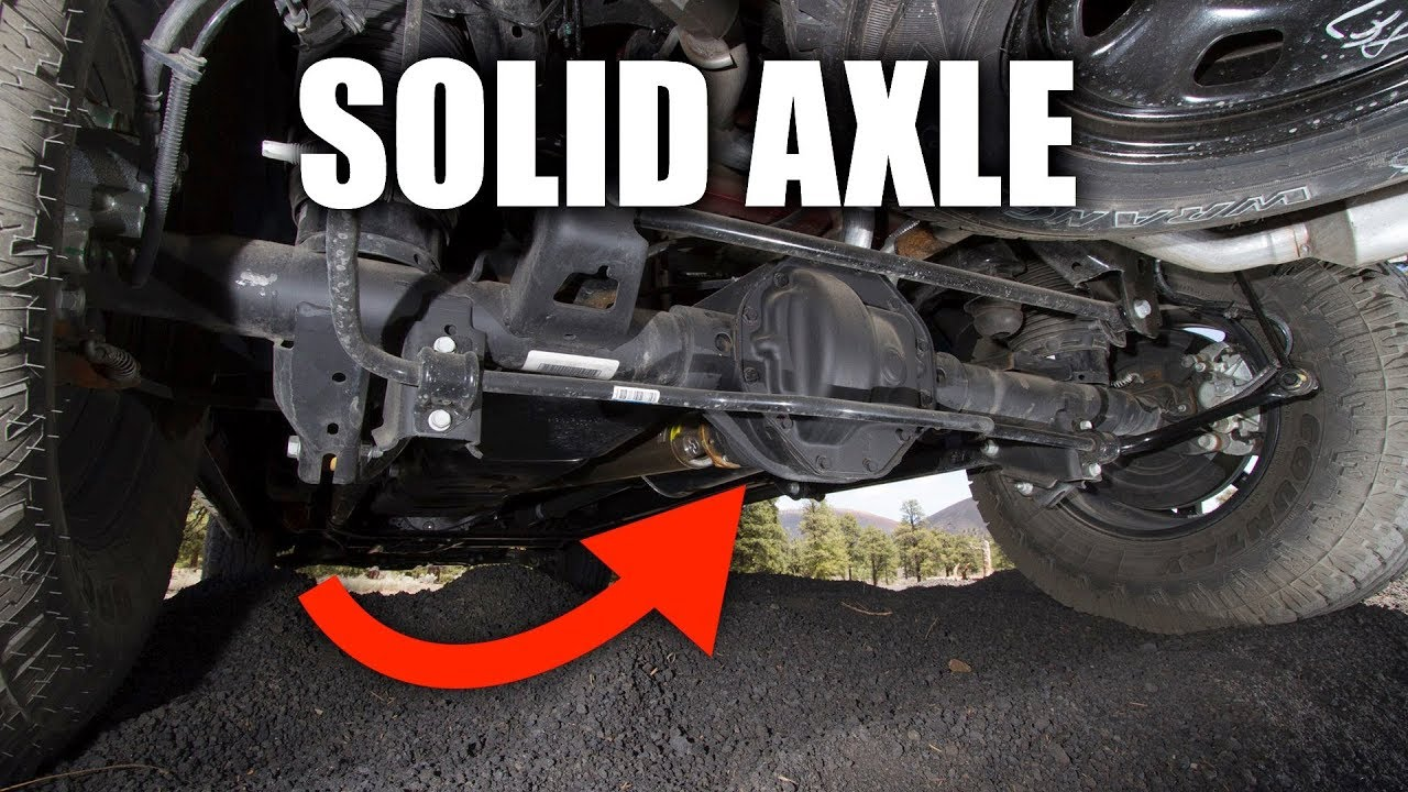 hight resolution of solid axle suspension how truck suspensions work
