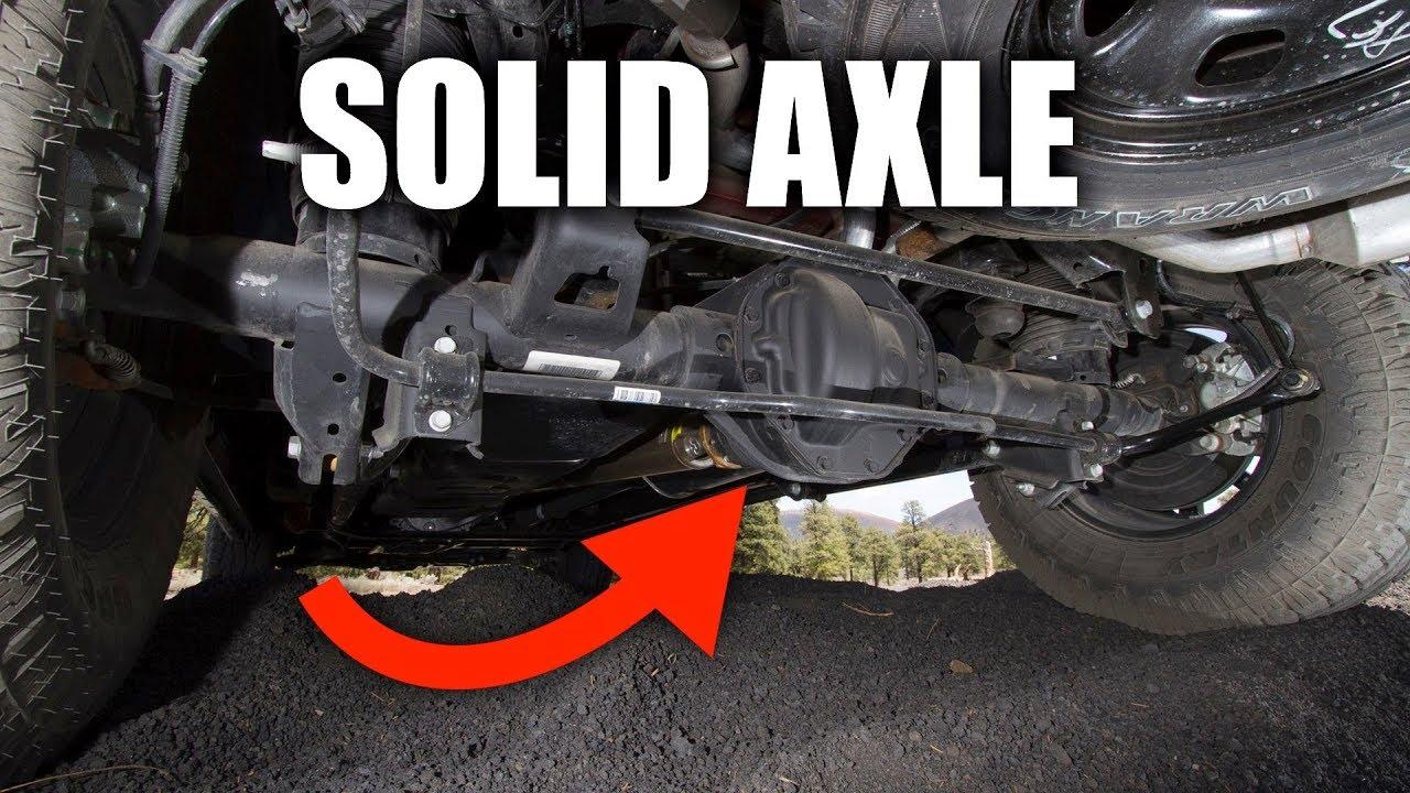 medium resolution of solid axle suspension how truck suspensions work