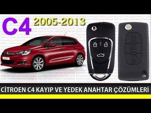 "CİTROEN C4 ANAHTAR "" 2009 """