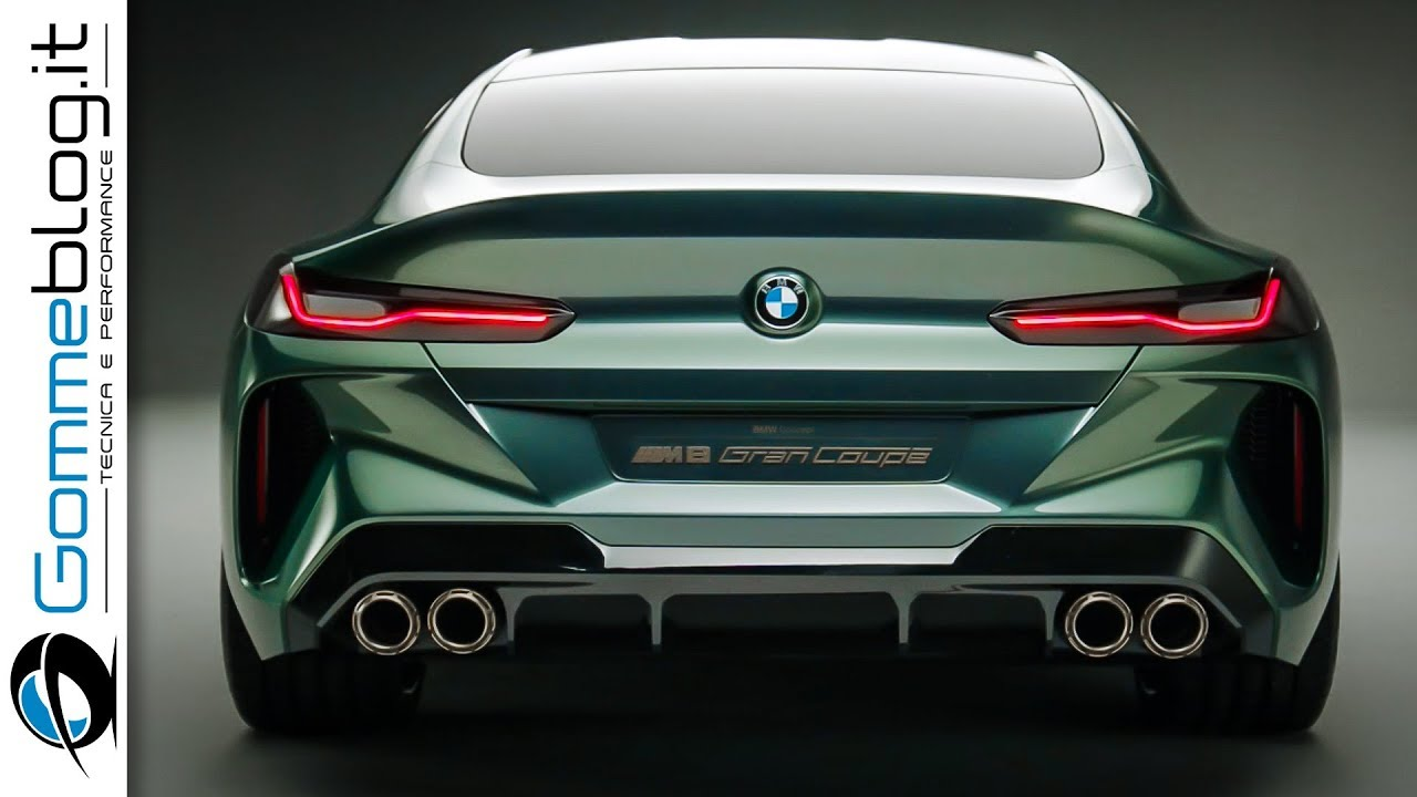 Bmw 2018 Concept M8 Gran Coupe Best Design How To Fight Mercedes