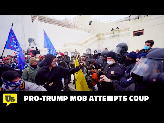 Violent Mob Storms the Capitol