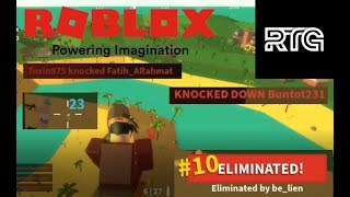 Losing in the middle of the Noooo contest! | Roblox Indonesia