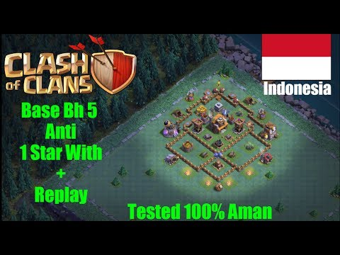 Base Coc Bh 5 Terkuat Anti 1 Star D Clash Of Clans Indonesia