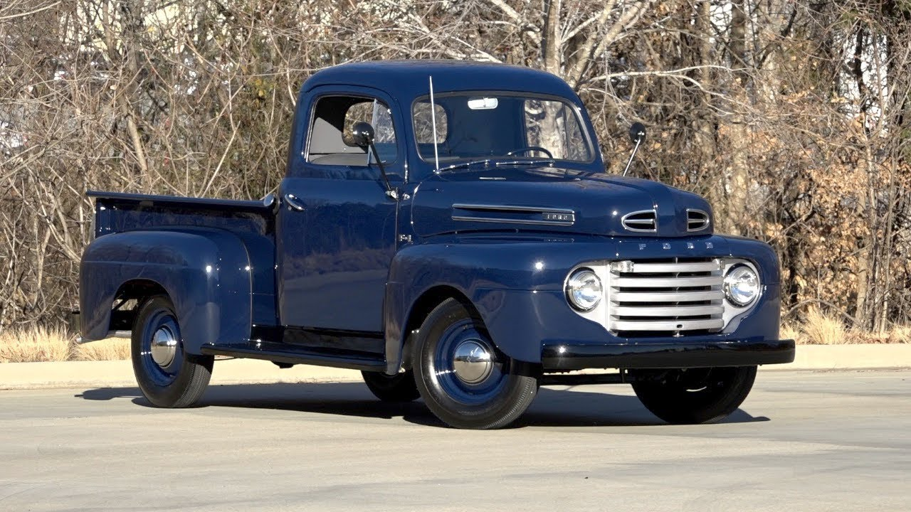 1950 ford f1 pickup truck sold 136149 youtube. Black Bedroom Furniture Sets. Home Design Ideas