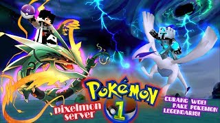 PETUALANGAN MELAWAN FROSTDIAMOND DAPET 3 POKEMON SHINY LEGENDARY ! - Minecraft Survival Pixelmon #1