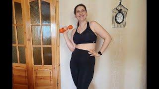 Моя зарядка для похудения 20.04.2020 / как похудеть мария мироневич