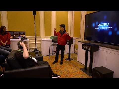 Creative Super X-Fi 3D Immersive Headphone Technology at CES 2018