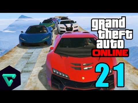 Grand Theft Auto 5 Multiplayer - Part 21 - Fast7 รถบินไม่ได้