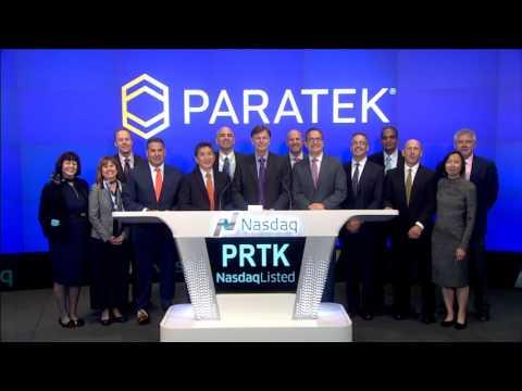 Paratek Pharma Ringing Closing Bell at NASDAQ on 10/4/16