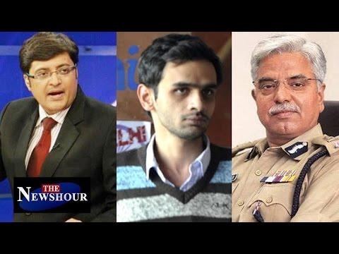 BS Bassi VS Umar Khalid  - JNU Face Off : The Newshour Debate (23rd Feb 2016)