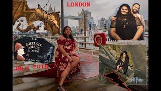 "LONDON VLOG "" Sherlock Holmes Museum, Harry Potter WARNER BROS and London Comic Con"""