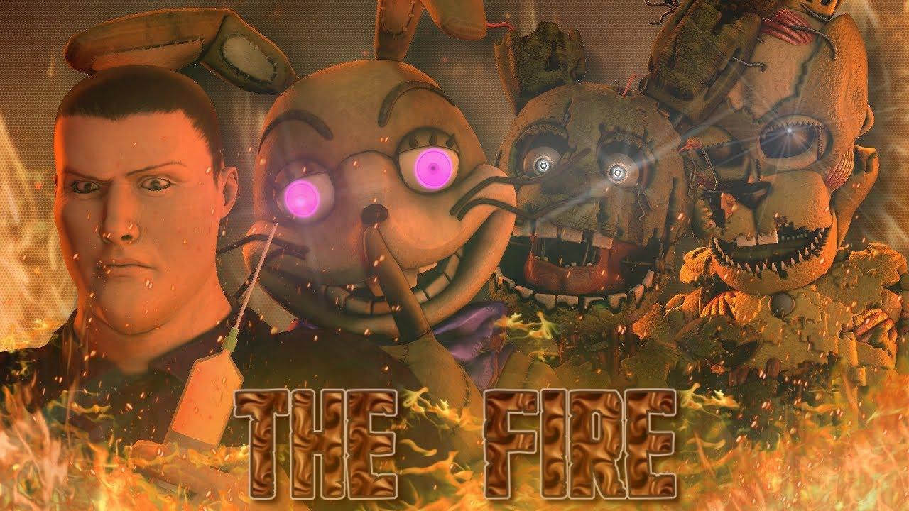 Download [SFM/FNAF] The Fire (Happy 5th anniversary fnaf!)