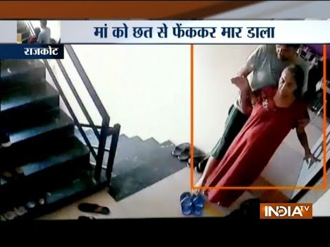 Gujarat professor throws 64-year-old ailing mother from 4th floor, gets arrested after 3 months