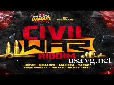 Civil War Riddim (Instrumental) 2015