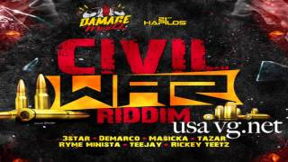 Civil War Riddim (Instrumental) 2015