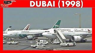 DXB DUBAI Int Airport 20 YEARS AGO! (1998)