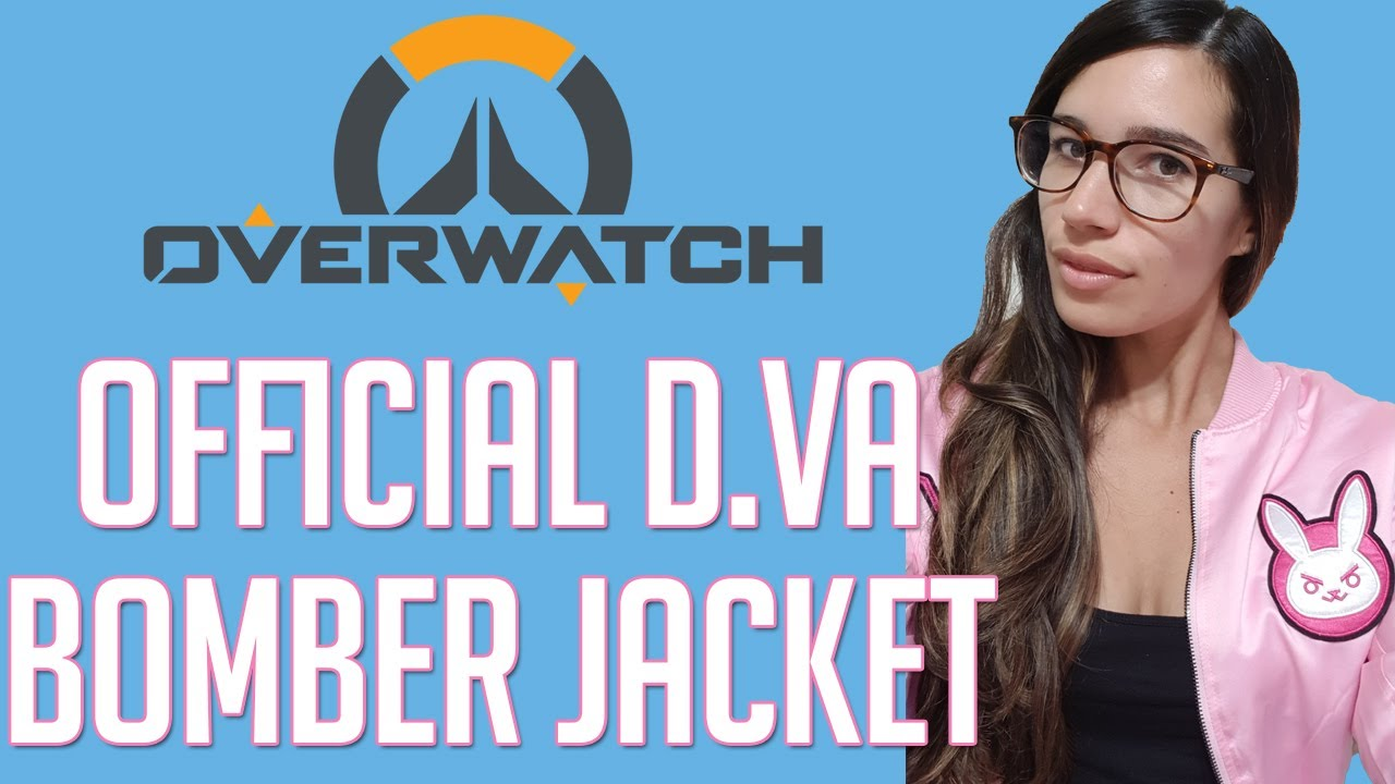 50bc15b96 OFFICIAL D.VA BOMBER JACKET UNBOXING   OVERWATCH