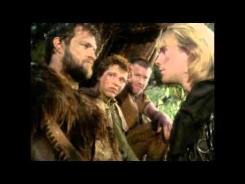 "Jason Connery as Robin Hood in ""Robin of Sherwood""."