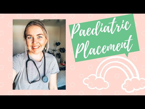 Day In The Life Of An Australian Nursing Student  // Paediatric Placement // First Day