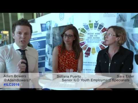 Keeping the promise of decent work for youth (full session)